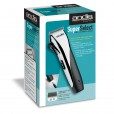 Andis Super Select Cord/Cordless Hair clipper w/ 8 attachment combs #22805
