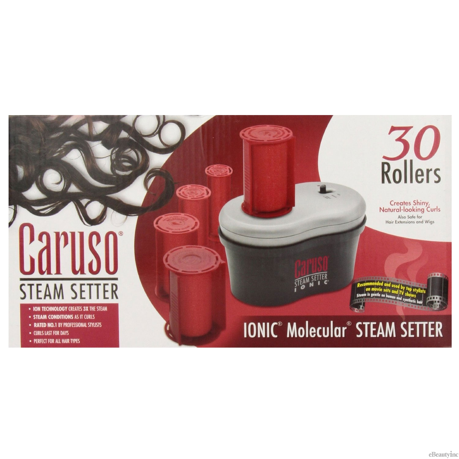 Caruso Ion Molecular Steam Hair Setter 30 Rollers #C97958