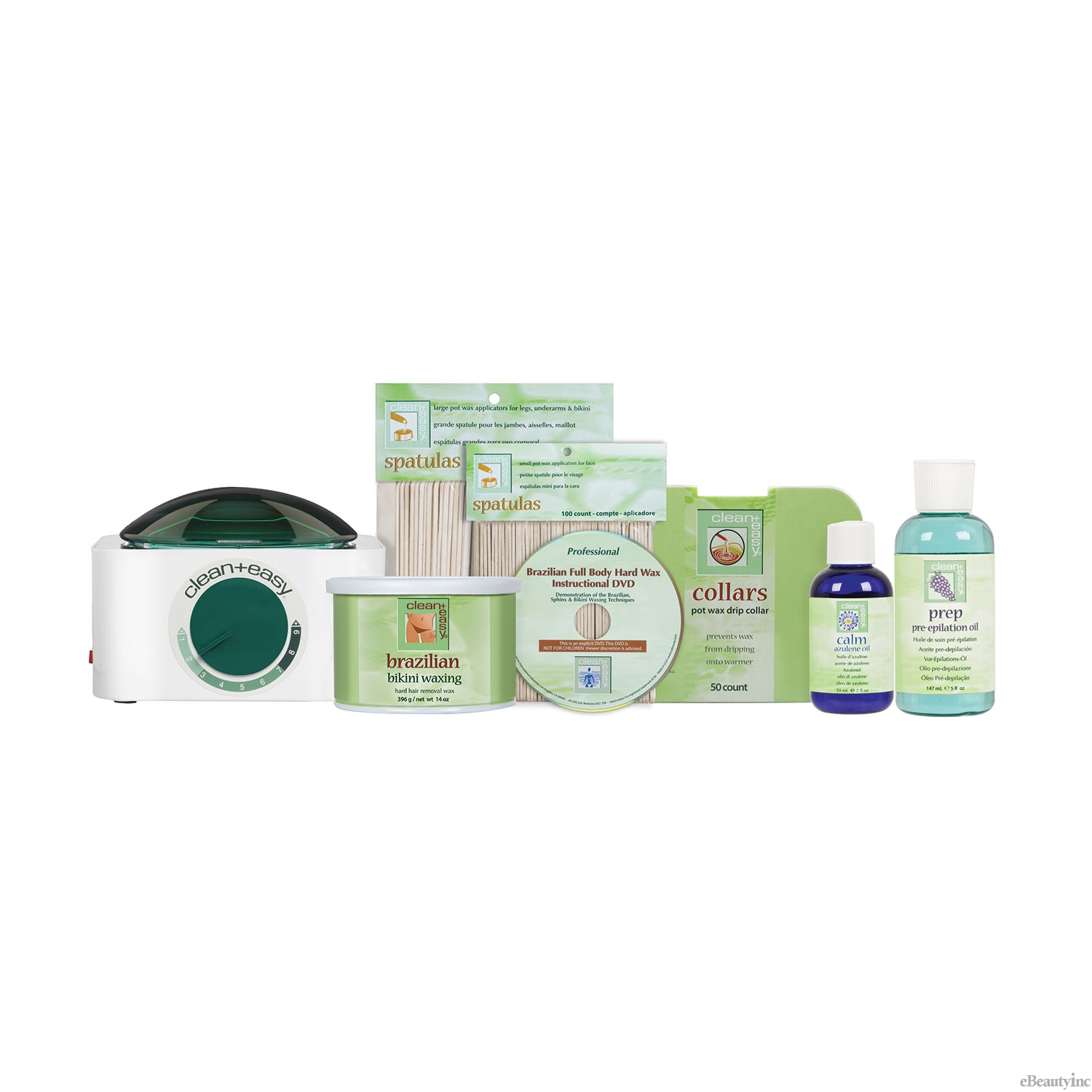 Clean + Easy Brazilian Waxing Kit