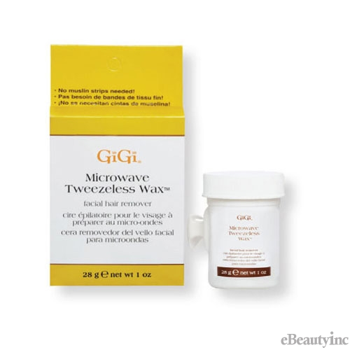 GiGi Microwave Tweezeless Wax - 1oz