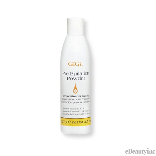 GiGi Pre-Epilation Dusting Powder - 4.5oz