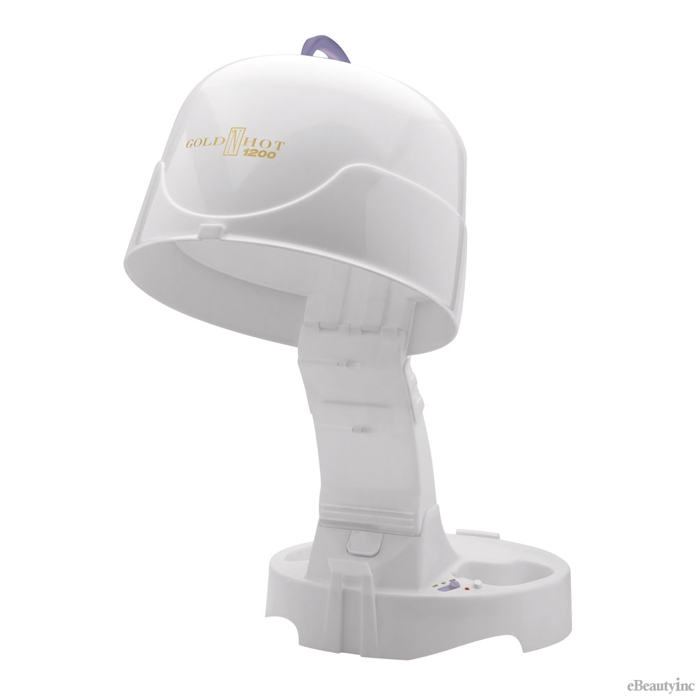 Gold N Hot 1200-Watt Hard Bonnet / Hooded Hair Dryer #GH9271