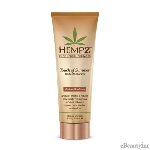 Hempz Touch of Summer for Medium Skin Tones Organic Hemp Seed Oil - 8oz