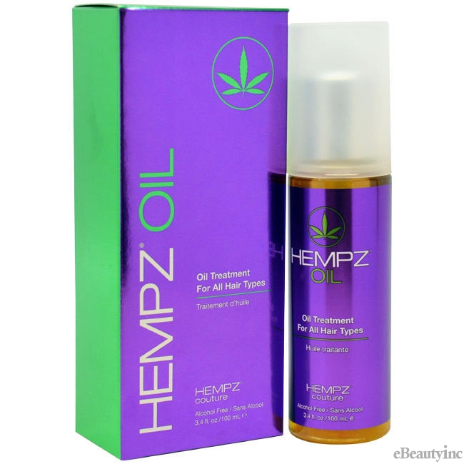 Hempz Couture Oil Treatment - 3.4oz