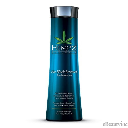 Hempz 25X Black Bronzer Tan Maximizer - 10.1oz