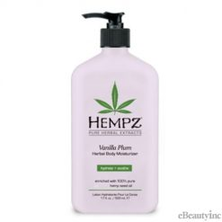 Hempz Vanilla Plum Herbal Body Moisturizer Lotion - 17oz