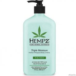 Hempz Triple Moisture Herbal Whipped Body Creme Lotion - 17oz