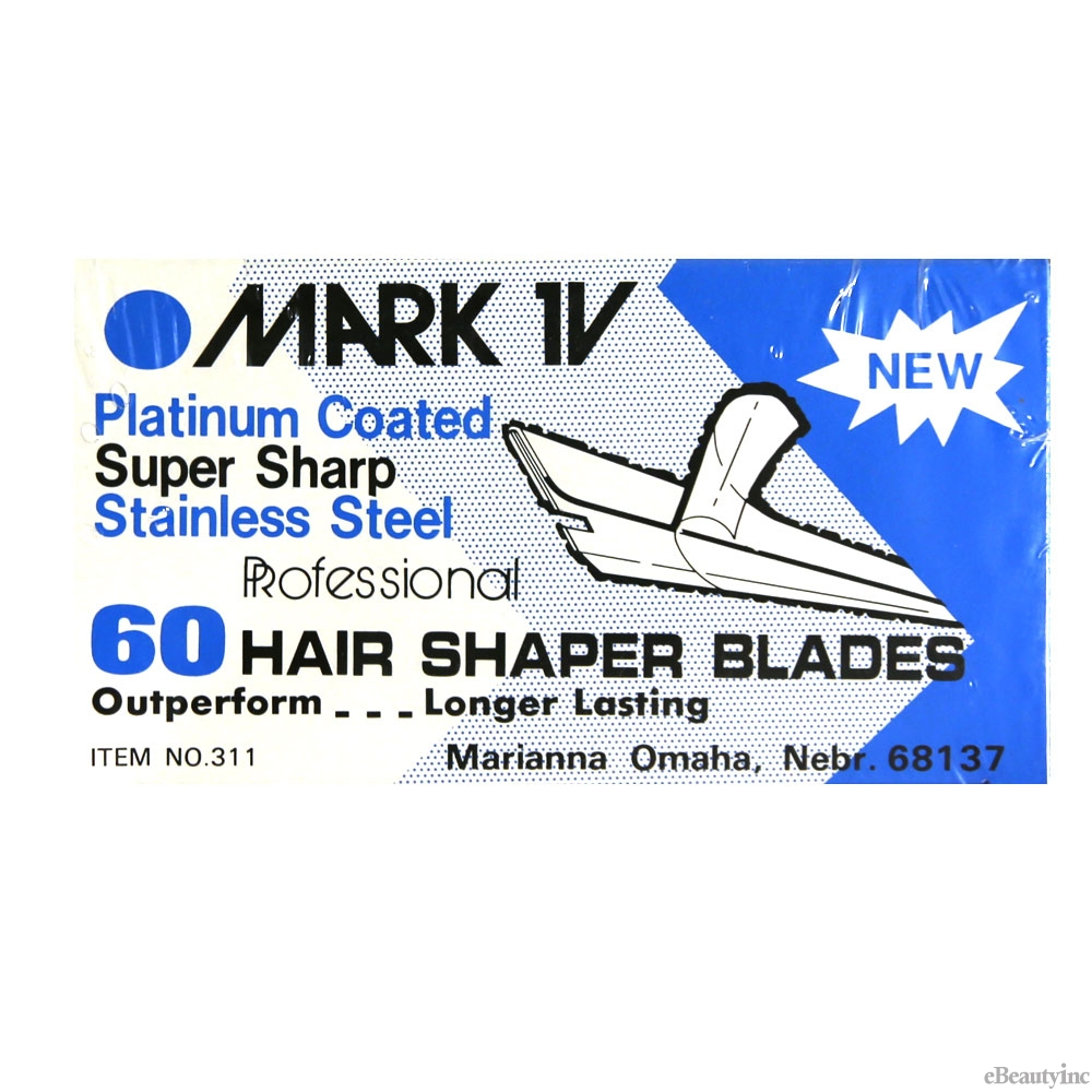 Marianna Mark IV Blades 60 Hair Shaper Blades