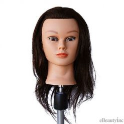 "Marianna Mannequin Head 21"" 100% Human Hair W/Clamp"