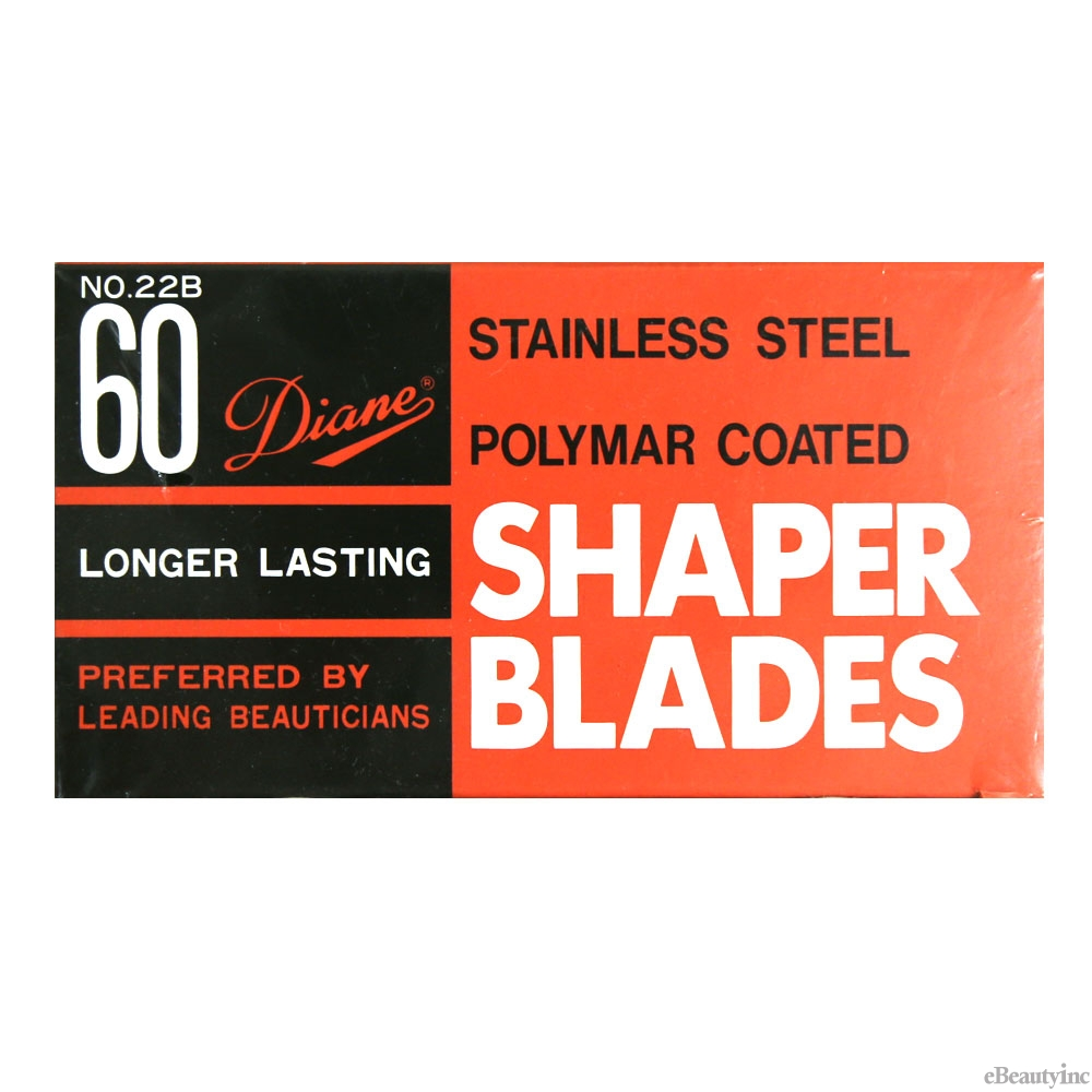 Diane Stainless Steel Hair Shaper Blades