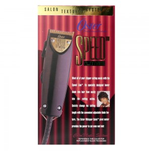 Oster Speed Line Salon Hair Clipper with 4 attachment Combs Set #76023-540