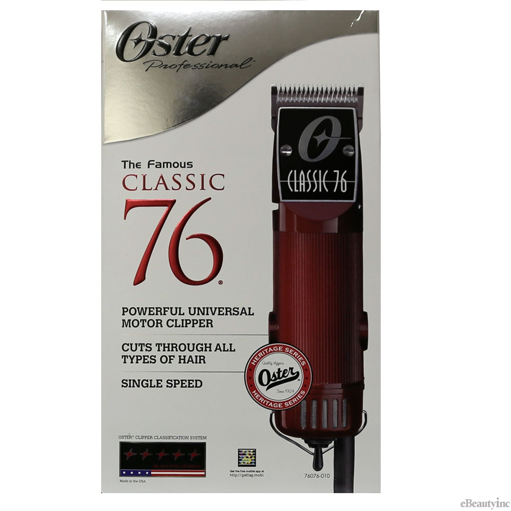Oster Classic 76 Universal Motor Clipper with Detachable #000 & #1 Blades