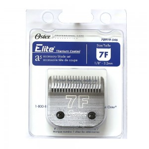 Oster Elite CryogenX Professional Animal Clipper Blade #7F for A5 - 78919-546