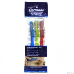 Personna Eyebrow Shaper Razor 3-pack