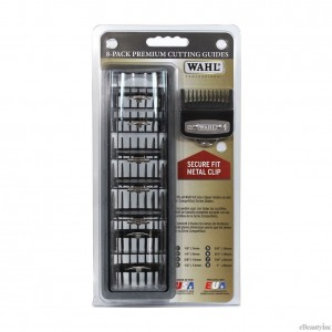 Wahl Metal Attachment Clipper Guards 8-Pack #3171-500