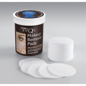 Andrea EYE Q's Moisturizing Eye Makeup Remover Pads - 65 pads