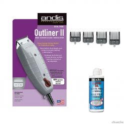 Andis Outliner II Trimmer & attachment combs & Oil Set
