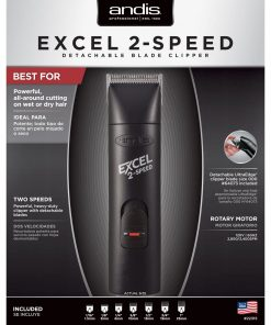 Andis Excel 2 Speed Detachable BGC-2 Hair Clipper #22315