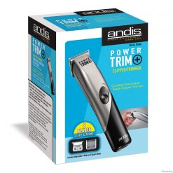 Andis Power Trim+ Cord/Cordless D-5 Hair Clipper/Trimmer #23900