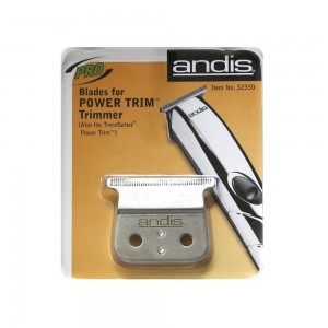 Andis D-4 Power Trim Trimmer Stainless-Steel T-Blade Set #32350