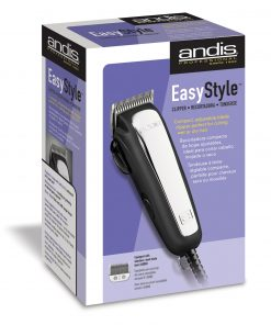 Andis Easy Style Heavy duty Wet or Dry Hair Clipper w/ 9 attachment combs #60065