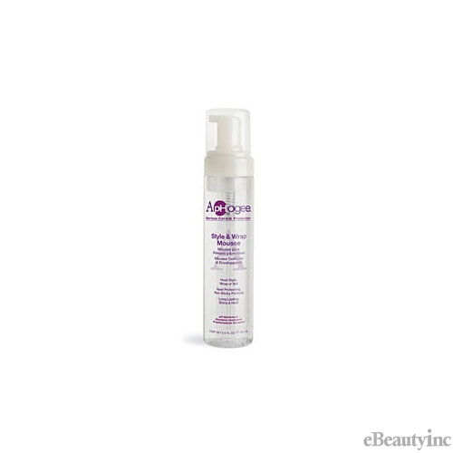 Aphogee Style & Wrap Mousse - 8.5oz