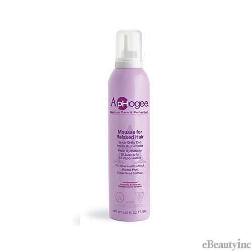 Aphogee Styling Mousse For Relaxed Hair - 9.25oz