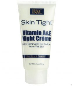 B&C Skin Tight Vitamin A & E Night Creme - 3.5oz