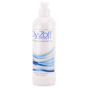 Dy-Zoff Lotion Hair Color Rinse Tint Stain Remover - 12oz