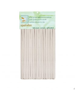 Clean + Easy Petite Wood Applicator Spatulas 100pk