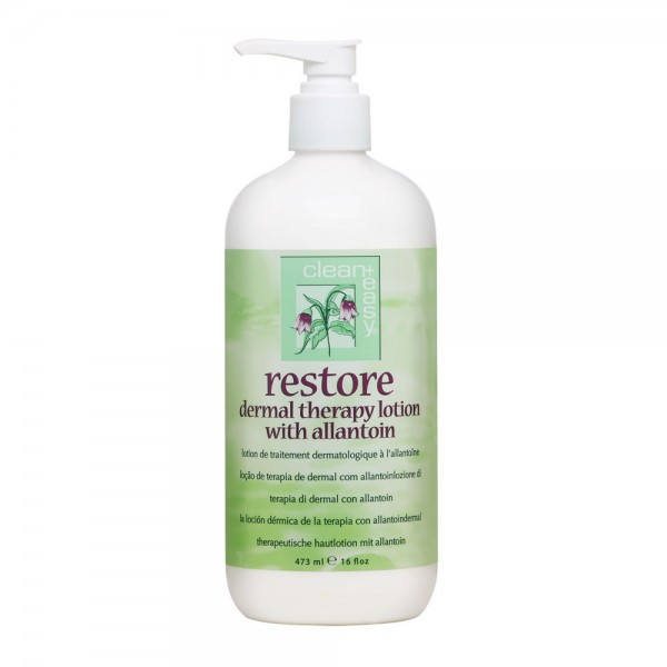 Clean + Easy Restore after Hair Removal or Massage Lotion - 16oz