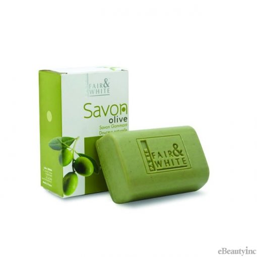 Fair and White Olive Oil Exfoliating Soap - 200gm