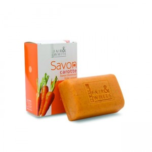 Fair and White Savon Carrot Exfoliating Soap - 200g