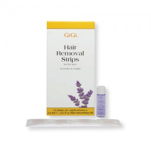 GiGi Lavender And Vanilla Hair Removal Strips For The Face