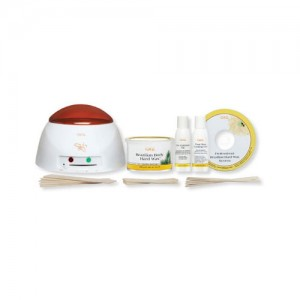 GiGi Brazilian Waxing Kit - Hair Removal Warmer System