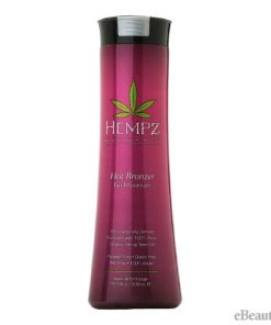 Hempz Hot Bronzer Tan Maximizer Tanning Lotion - 10.1oz