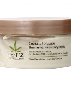 Hempz Coconut Fusion Shimmering Herbal Body Souffle - 8 oz/ 227g