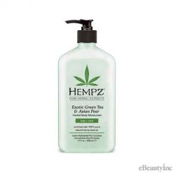 Hempz Exotic Green Tea & Asian Pear Herbal Body Moisturizer lotion - 17oz