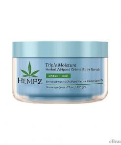 Hempz Triple Moisture Herbal Whipped Creme Body Scrub - 7.3oz