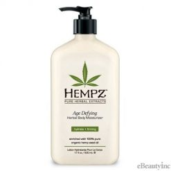 Hempz Age Defying Organic Hemp Herbal Body Moisturizer lotion - 17oz