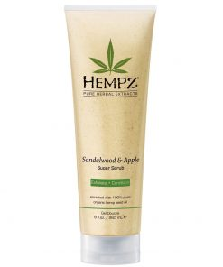 Hempz Sandalwood & Apple Herbal Body Scrub - 9oz