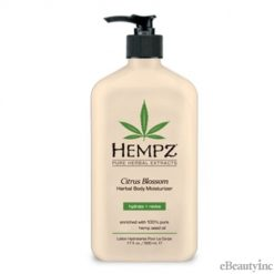 Hempz Citrus Blossom Herbal Body Moisturizer Lotion -17oz