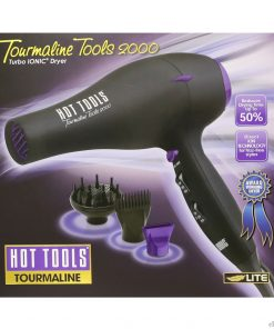 Hot Tools 1875 Watts Tourmaline IONIC Professional Hair Dryer #1043