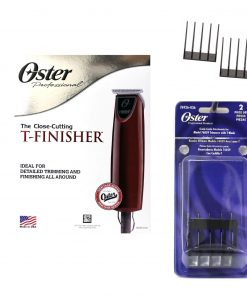 Oster T-Finisher Hair Trimmer W/ 2 Guide Comb Attachments #76059-010