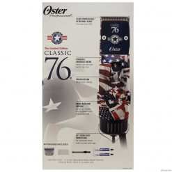 Oster 76 US Flag Operation Homefront Universal Motor Clipper with 000 Blade