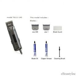 Oster Turbo 111 Universal Motor Clipper with Detachable Blades #000 & #1