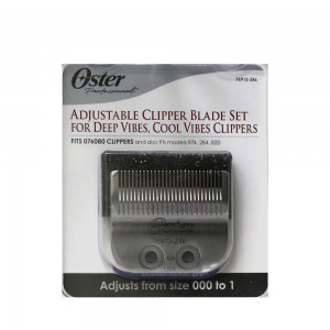 Oster Adjustable Blade Size 000-1 Fits Cool Vibes & Deep Vibes Clippers