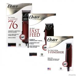 Oster Classic 76 + Fast Feed Clipper + T-Finisher Trimmer Set