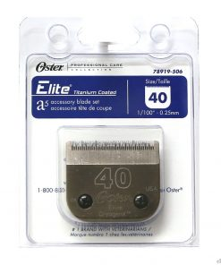Oster Elite CryogenX Professional Animal Clipper Blade #40 for A5 - 78919-506