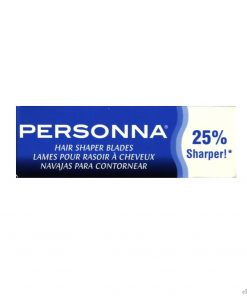 Personna Stainless Steel Hair Shapers Razor Blades #5pcs